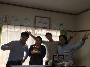 裕子さん誕生日